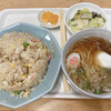 ロビン飯店 - 料理写真:炒飯+ミニラーメンセット 800円