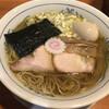 きく屋 - 料理写真:うすくち淡口ラーメン煮玉子入り(800円)