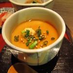 居食屋 たぬき - 茶碗蒸し (?)