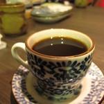 居食屋 たぬき - 食後のコーヒー