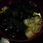 べっぴん - 味噌汁