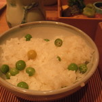 懐食吉田 - 豆ご飯(卯月)