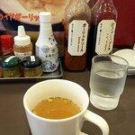 川崎ステーキセンター - カップスープ