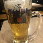 鶏贅沢 青蓮 - 生ビール