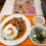 タイ国屋台食堂 ソイナナ - ガバオライス