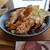 からあげセンター - 料理写真:山賊焼カレー~☆