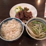 123749319 - 牛タン焼定食
