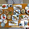 柳瀬温泉 - 料理写真:夕食(はじめに並んでいた料理)