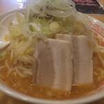 景勝軒 - 料理写真:味噌ふじ麵。