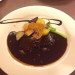 レストラン 洋食工房 - プレミアムビーフシチューセットのメインディッシュ