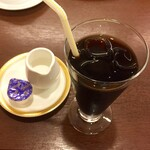 レストラン 洋食工房 - プレミアムビーフシチューセットに付属のドリンク(アイスコーヒー)