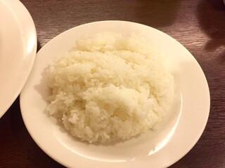 レストラン 洋食工房 - プレミアムビーフシチューセットに付属のライス(大盛り)