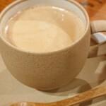 ふきのとう - セットで選んだホットコーヒー。正解!