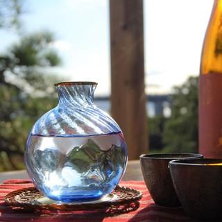 庭園茶寮 みな美 - ドリンク写真:日本酒 ペアリング