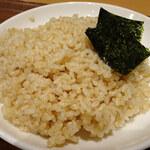 カレー食堂 心 - 宮城県産低農薬玄米