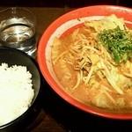 四天王 - 醤油四天王(ライス付き)