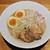 吉岡マグロ節センター - 料理写真:鶏白湯