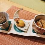 釜飯と和食 旬 - とある日のお通し