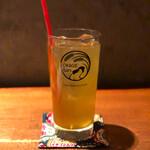 酒と炭焼 おかげさん - 緑茶