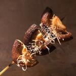 酒と炭焼 おかげさん - 委縮ゼロで椎茸の出汁がじゅわっと拡がります