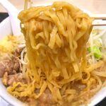 江戸前煮干そば きみはん - 麺 2020.1.16