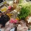 環翠 - 料理写真:鮟鱇鍋の具材
