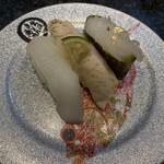 金沢まいもん寿司 - 白いもん三昧