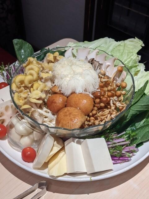 天香回味 赤坂別館 - キノコがたっぷり!
