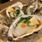 肉と漁師飯 浜右衛門 - 生牡蠣