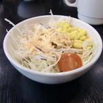 肉のはせ川 - サラダセットのサラダ