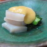 Shiduka - タイラ貝の酢味噌和え