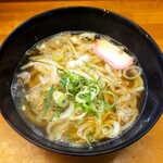 あぶらや - かすうどん(¥460)。南河内(大阪府南東部)発祥の郷土料理です
