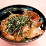 佐賀ラーメン 喰道楽 - ミニ豚丼