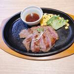 Shiroganekohiten - 牛ハラミのステーキセット