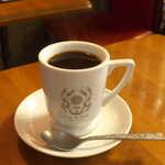 123785344 - ブレンドコーヒー(¥510)。特にバターの風味は感じないが、フルボディで、飲みごたえ満点