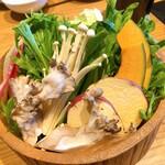 123787563 - 【お野菜(おかわり自由)】