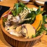 123787570 - 【お野菜(おかわり自由)】