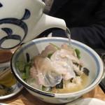 天神 わっぱ定食堂 - 鯛茶