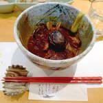 12379843 - やっぱり食べたいのは、郷土料理のとんこつでしょう! なんと、八丁味噌を使用、こんなところで故郷の味と出会うとは(感涙)