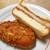 ボーレ デッキー - 36種類のスパイスビーフカレーパン & 極うまとんかつサンド(ハーフ)