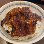 鰻 とみた - 料理写真:上鰻丼