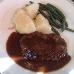 レストラン シャンクレール - レディーズハンバーグステーキ(\850)