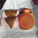鈴木家 - 桜餅と桃山