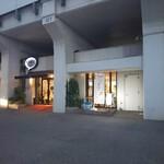 カフェ アサン - 外側入口