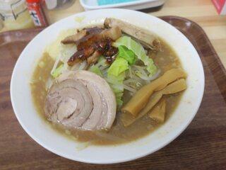 ラーメン 鷹山 - 豚もやしラーメン(¥880)