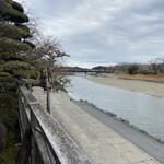 123802093 - お席からの眺め(五十鈴川)