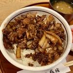 豚捨 - 牛丼