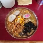 ラーメン党 ひさご - 料理写真:味噌野菜 990円
