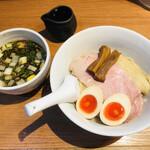 torisobaniboshisobahanayama - 特製つけ麺(1,050円)