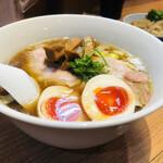 torisobaniboshisobahanayama - 特製鶏そば(1,000円)